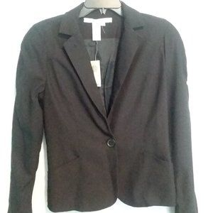 NWT Max Studio Medium Black Blazer